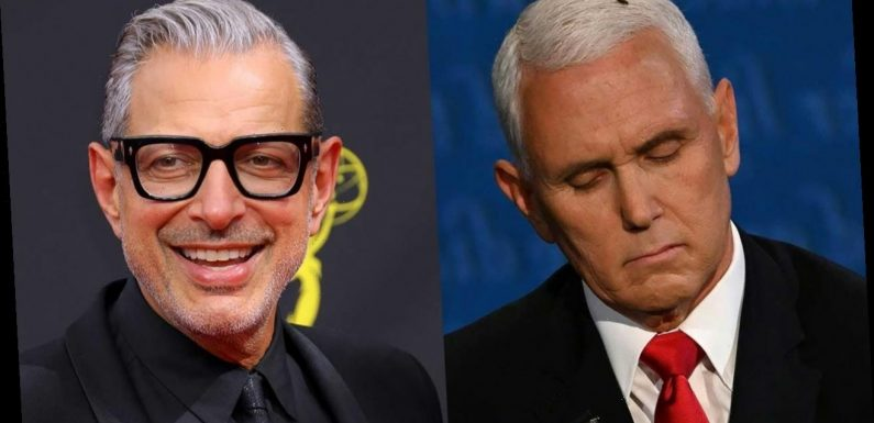Jeff Goldblum Fans Want Him to Play Mike Pence's Fly on 'SNL'