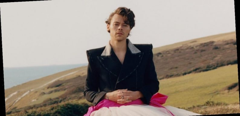 Harry Styles Talks Making His Own Damn Fashion Rules in Stereotype-Smashing Vogue Interview