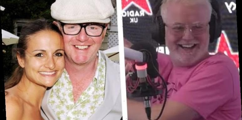 Chris Evans hits out at wife over Virgin Radio visit: 'How dya think we paid the mortgage'