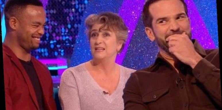 Caroline Quentin rips into Johannes Radebe for 'getting name wrong' in Strictly blunder