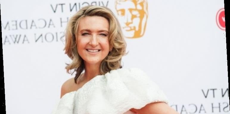 Victoria Derbyshire admits happiest moment of her life was being walked down the aisle