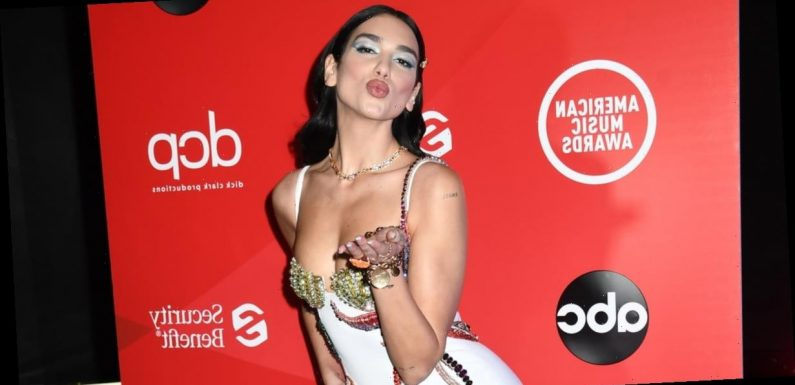 We'll Spare You the Little Mermaid Puns, but Dua Lipa Wore a Playful Starfish Dress to the AMAs