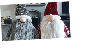 Shoppers rave about Aldi's sparkly Christmas gonks that only cost £10