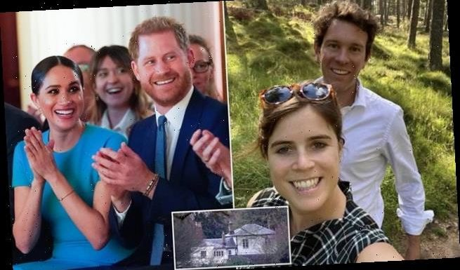 Meghan and Harry 'hand the keys of Frogmore Cottage to Eugenie'