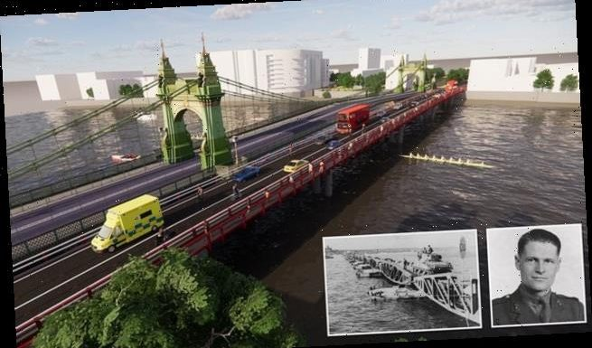 Jobsworths say it will take SEVEN YEARS to repair Hammersmith Bridge