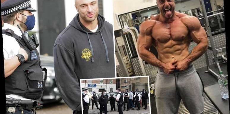 Gym owner who refused to close after 30 cops moved in to shut it down over lockdown breach to be hauled before courts