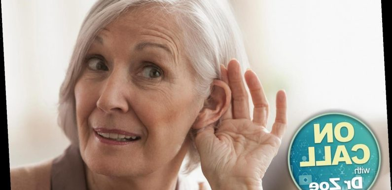 Hearing loss could be something to worry about — Dr Zoe shares the signs to look out for