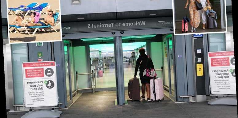 Special Covid passport certificates proving Brits are coronavirus-free could let air travel return to normal