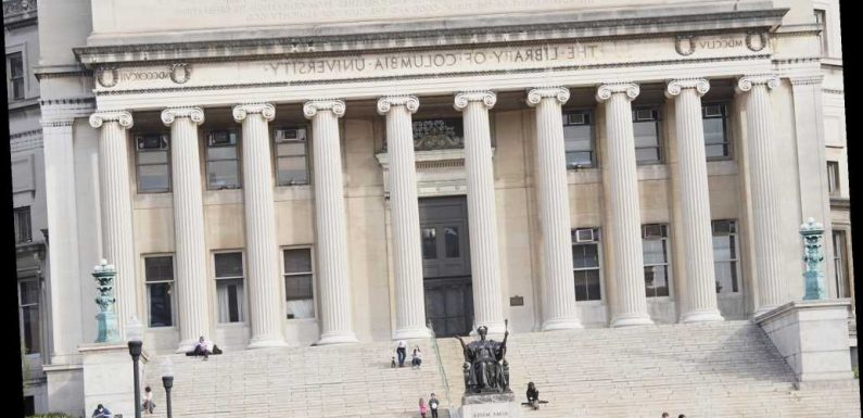 Columbia University temporarily bans 70 students for violating travel policy
