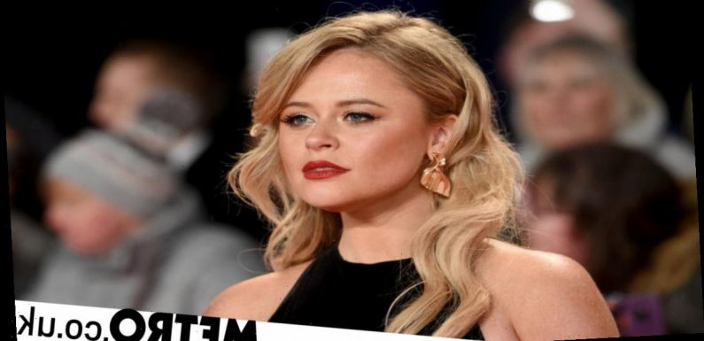 Emily Atack dumped married couple after threesome when they both fell for her