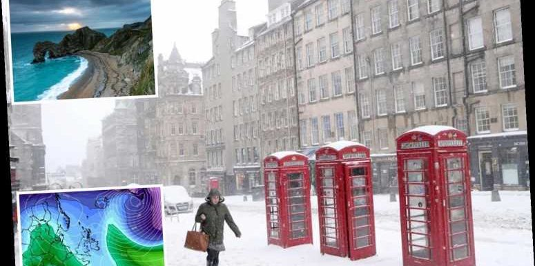 UK weather forecast – Odds slashed on White Christmas as Arctic blast could bring snow
