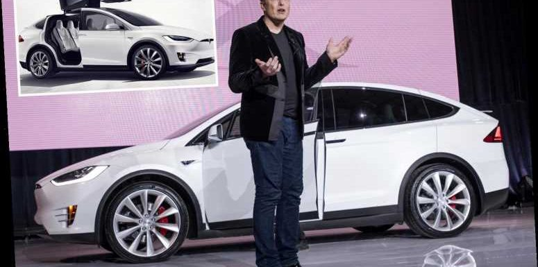 Tesla recalls more than 9,000 Model X cars over fears parts of their roofs could fly off while driving