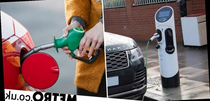 Electric cars need 50,000 miles before they're greener than petrol ones