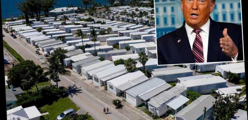 Florida man still pitching trailer park as site of future Trump presidential library