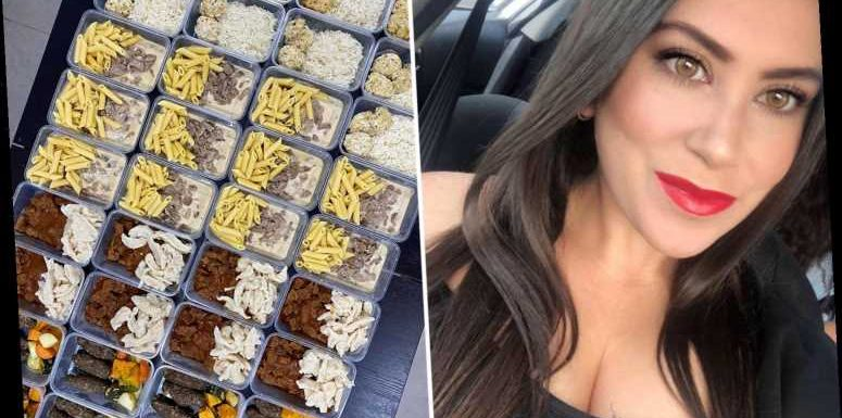 Thrifty mum-of-three makes 90 meals for just £200 – and it only took her one afternoon to do