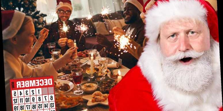 Christmas is saved! Festive bubbles will let 'up to 4 households' mix for 5 days over Xmas period