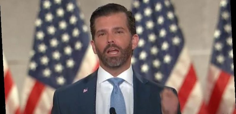 Donald Trump Jnr tests positive for COVID-19