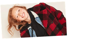 Behold, the Most Perfect Plaid Coat, and It's On Sale Today For $64!