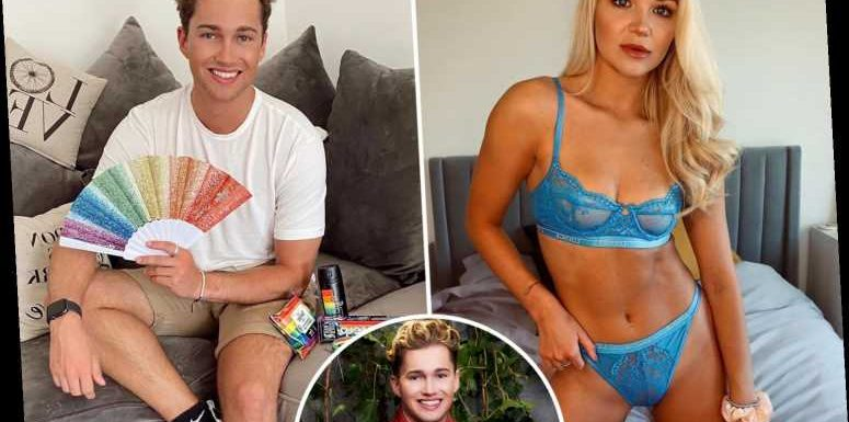Inside AJ Pritchard and girlfriend Abbie Quinnen's flat with chic lounge and cosy balcony