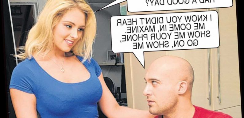 Greg discovers girlfriend Maxine is selling half-naked pictures of herself