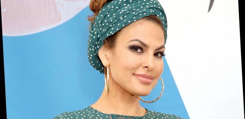 Eva Mendes Shares Photo 'While Being Tortured' as She Gets Mono-Thread Treatment in Her Neck
