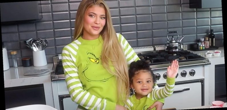 Kylie Jenner and Daughter Stormi's Adorable Grinch Pajamas Are on Amazon