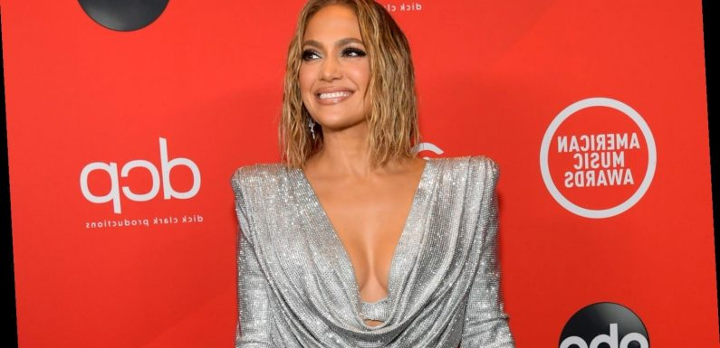 Jennifer Lopez Bares a Lot of Leg on American Music Awards 2020 Red Carpet!