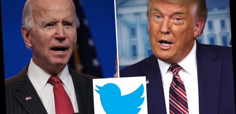 Twitter says it will hand control of president's official account to Biden on January 20 – even if Trump doesn't concede