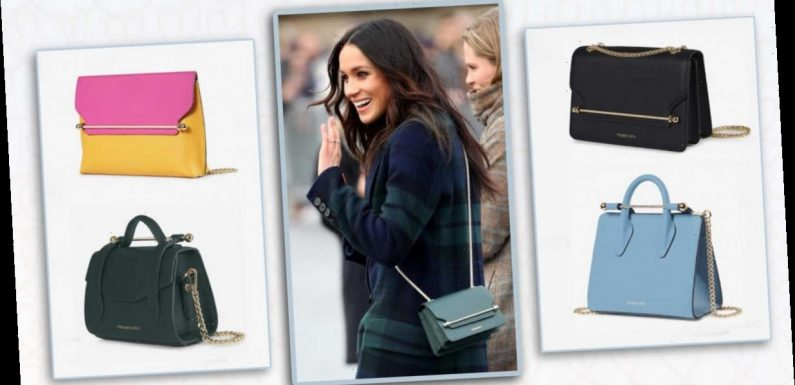 Meghan Markle's go-to Strathberry handbags are now up to 60% off. Yes, really.