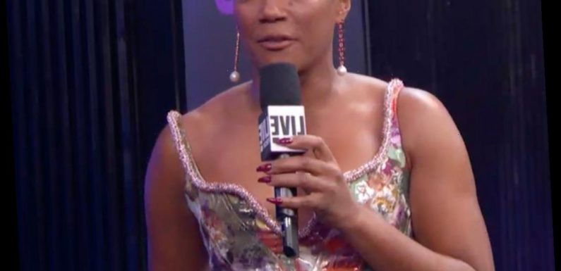 """Why Tiffany Haddish Is """"Crying"""" on the People's Choice Awards Red Carpet"""