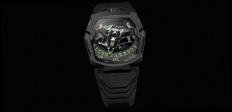 """URWERK's UR-220 """"Falcon Project"""" is the Successor to the UR-210"""