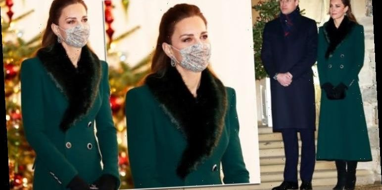 Kate Middleton updates favourite coat with fur trim – but is it real?