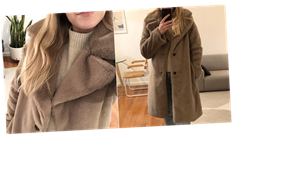 This Warm and Fluffy Coat Is My Favorite Winter Piece, and I Found It on Amazon