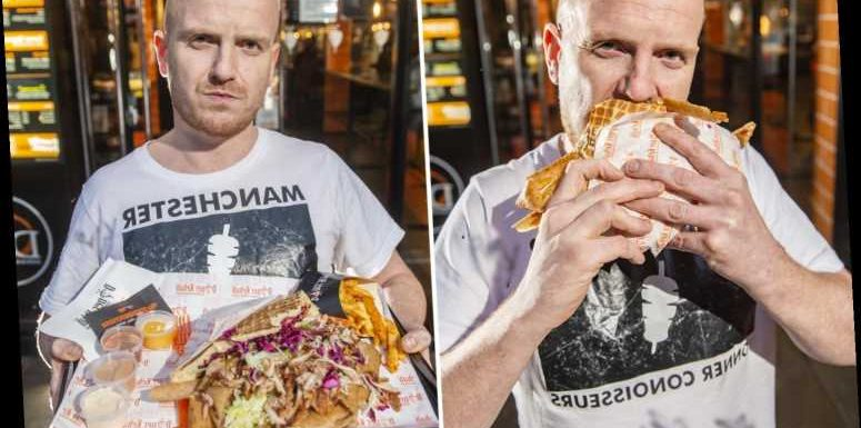 Fast food fanatic scoffs a staggering 60 kebabs in 30 days – totalling 120,000 calories