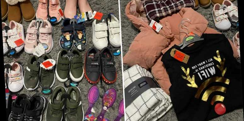 Savvy shoppers show off their huge Asda kids' clothing hauls as prices are slashed to 50p