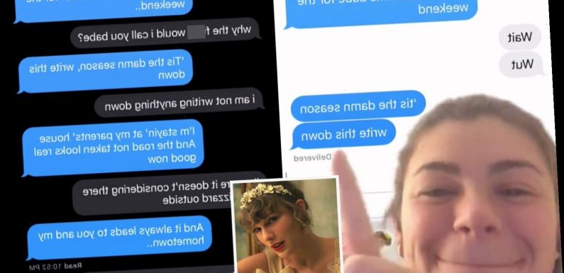 Women are blaming Taylor Swift for making them text 'hometown exes' in hilarious new trend with disastrous results