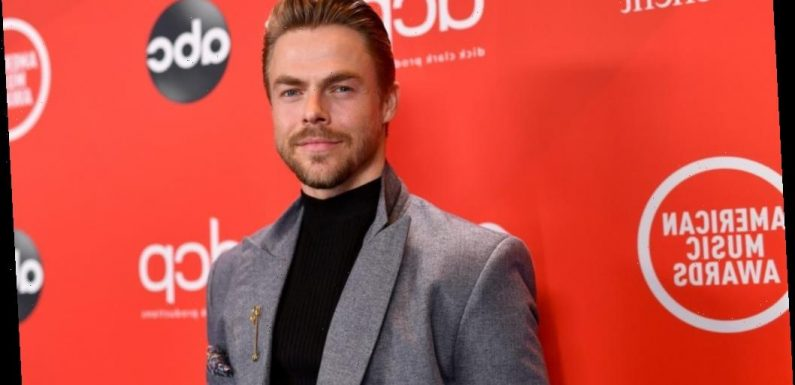 'DWTS': Why Derek Hough Was 'Mortified' When He First Met His Partner from 'Beverly Hills, 90210'