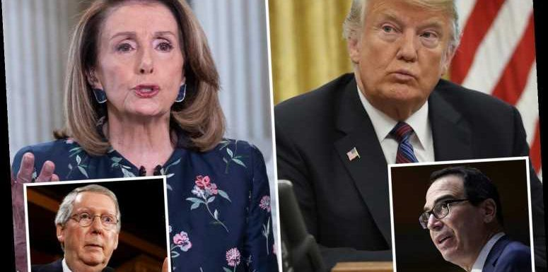 Trump and Pelosi pushing last-minute coronavirus stimulus check increase 'that could send $5,200 to families'