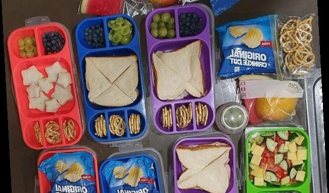 Mum gets 'lunchbox shamed' by other mums for feeding her kids too much but reveals she was starved as a kid