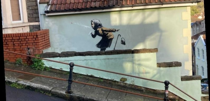 Banksy house owners say sale is back ON after '48-hour pause' – but claim they're WORSE off despite it's £5m valuation