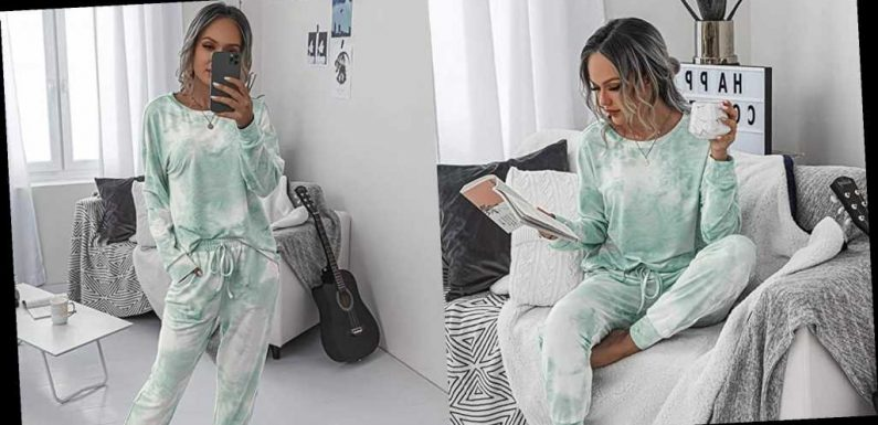 This Tie-Dye Pajama Set Was Made for Cozy Winter Instagram Posts
