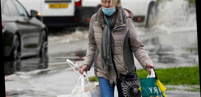 Met Office weather: Flash floods hit the UK as temperatures set to drop to -10 as 'coldest ever December' on the way