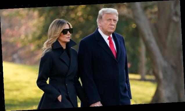 Donald Trump 'Not Happy' With Melania's White Marble & Dark Wood Renovations At Mar-a-Lago