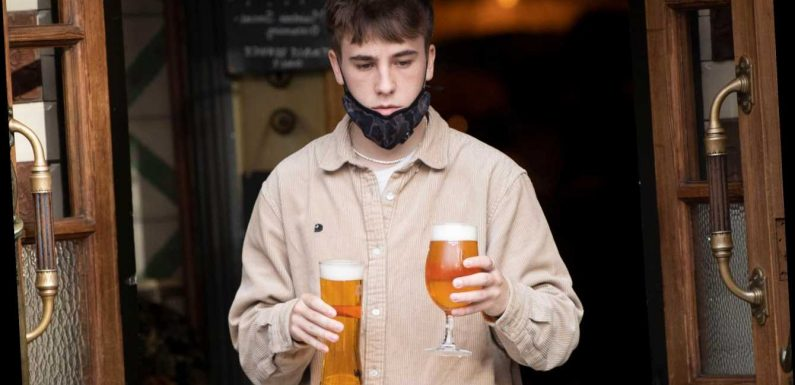 People in Tier 3 who test negative for coronavirus twice could go to the pub