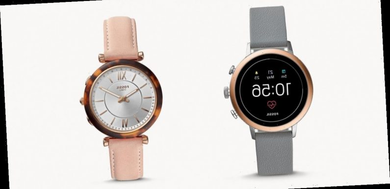 Our Favorite Fossil Watches to Gift for the Holidays — Up to 70% Off!
