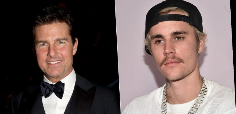 Why Justin Bieber Once Challenged Tom Cruise To A Fight