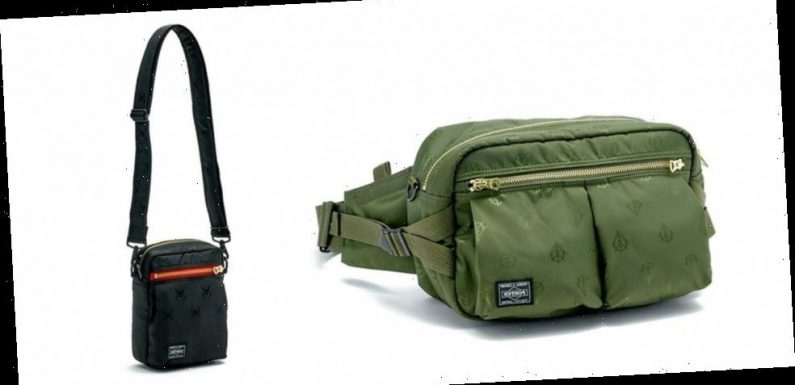 PORTER and 'Gundam' Issue Bags Fit for Char Aznable and the Zeon Army