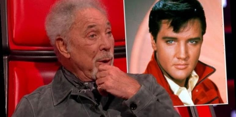 Sir Tom Jones floors The Voice judges with Elvis Presley anecdote 'Isn't that mad?!'