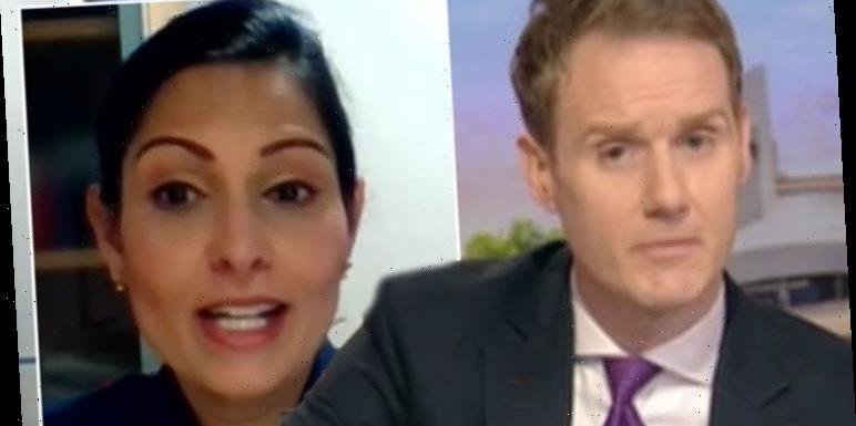 BBC Breakfast's Dan Walker savaged over 'car crash' Patel interview 'Lost respect'