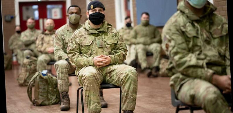 150 teams of Army troops to be deployed to deliver Covid vaccines with fleet of Land Rovers & Chinooks